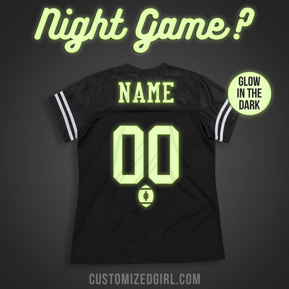 Custom Glow Nightgame Football
