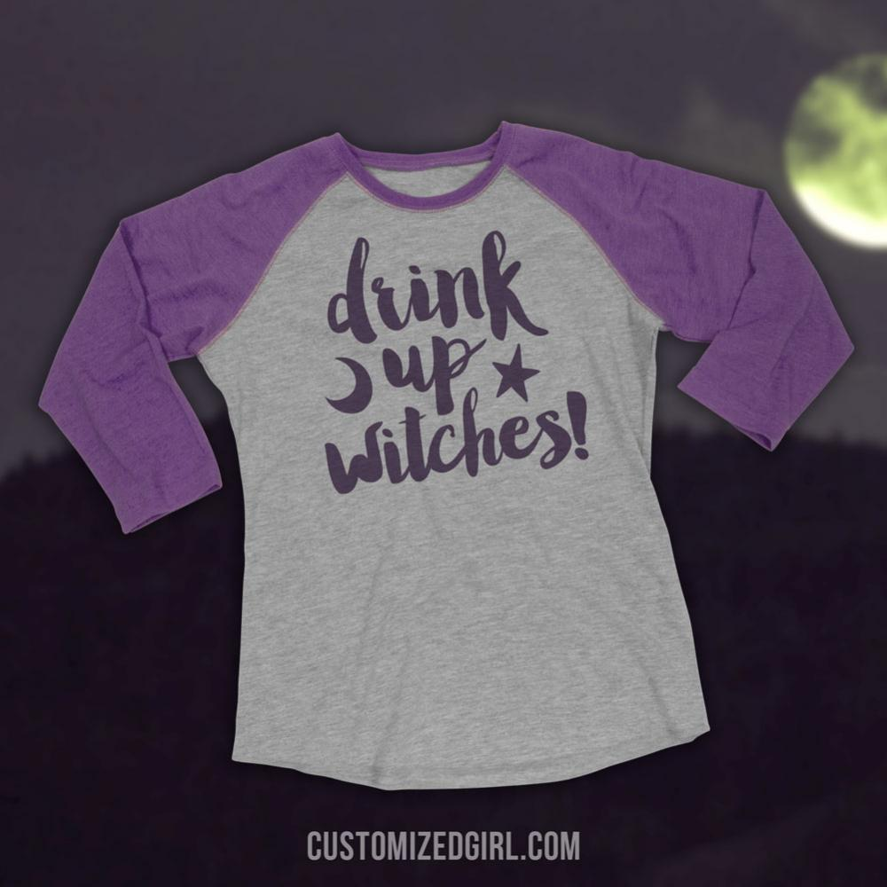Witches Get Drunk On Halloween
