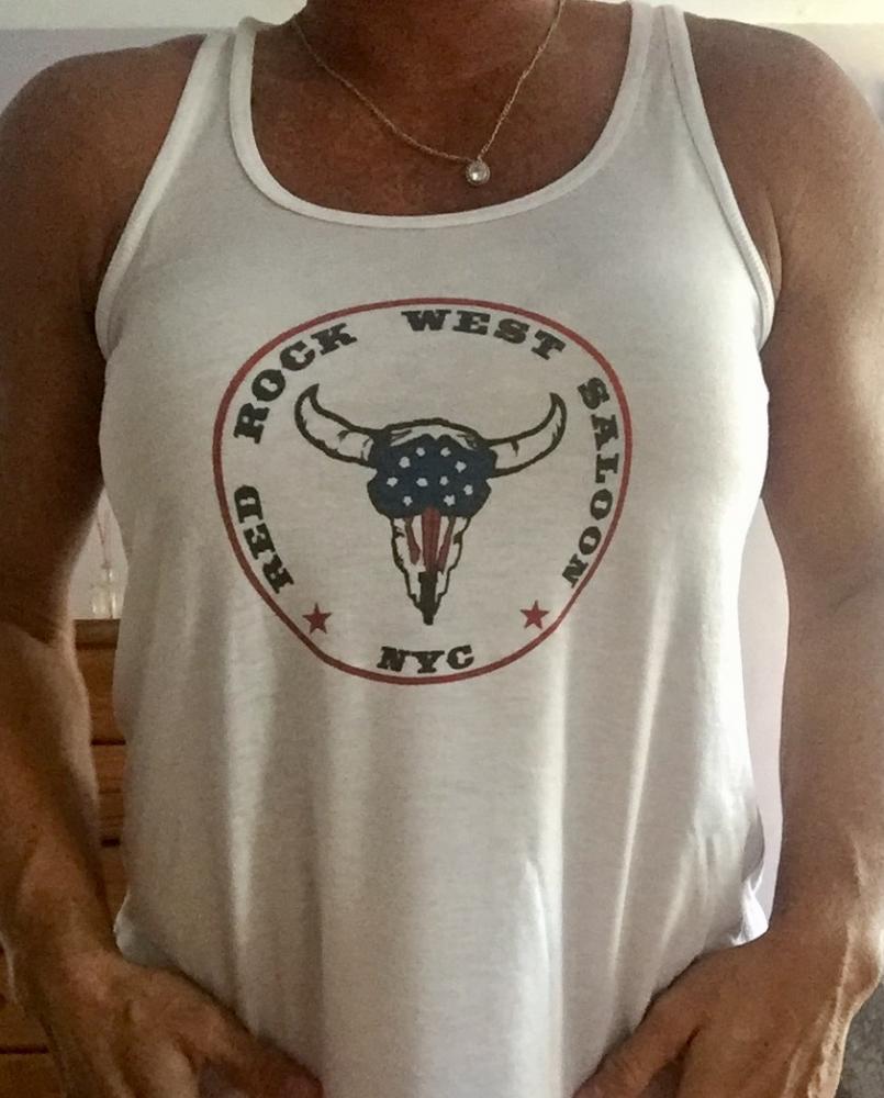 Red Rock West Saloon Girls Tank Top
