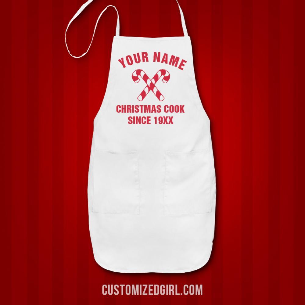 Christmas Cook Custom Name And Date
