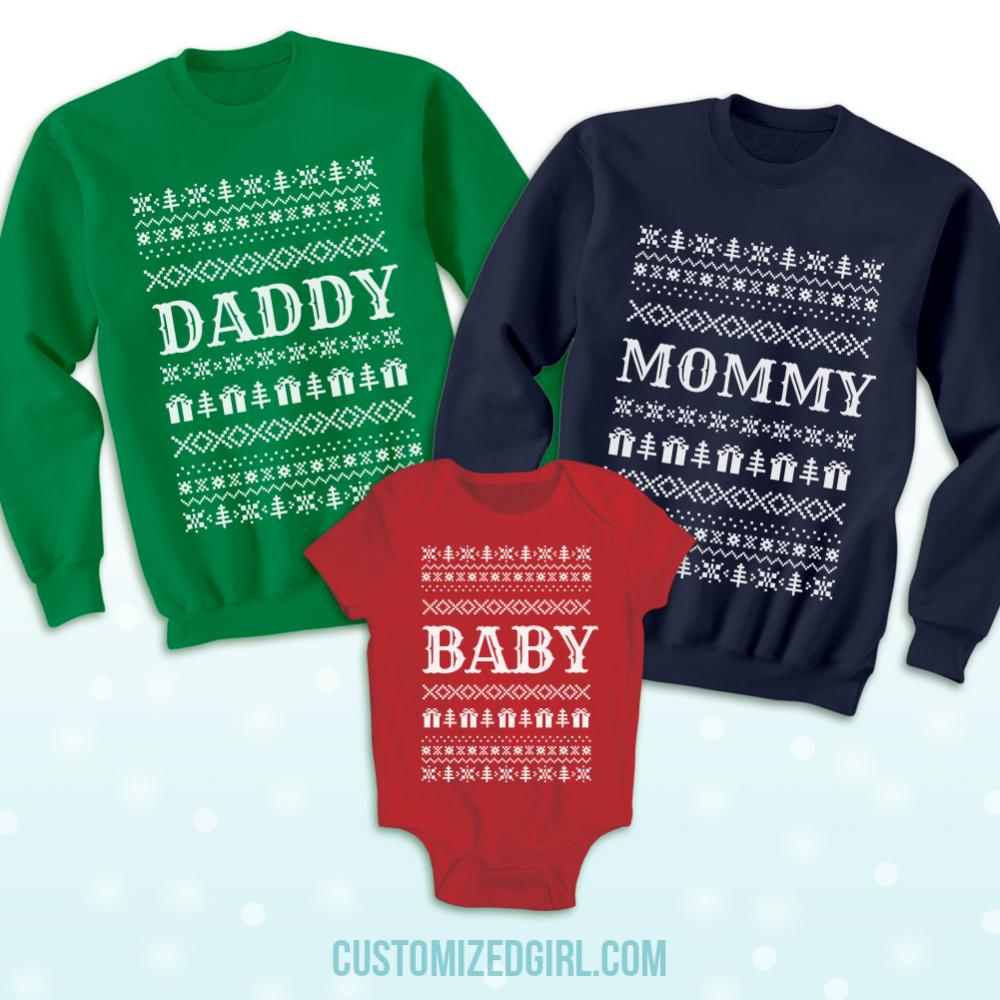 Ugly Sweater For Babys