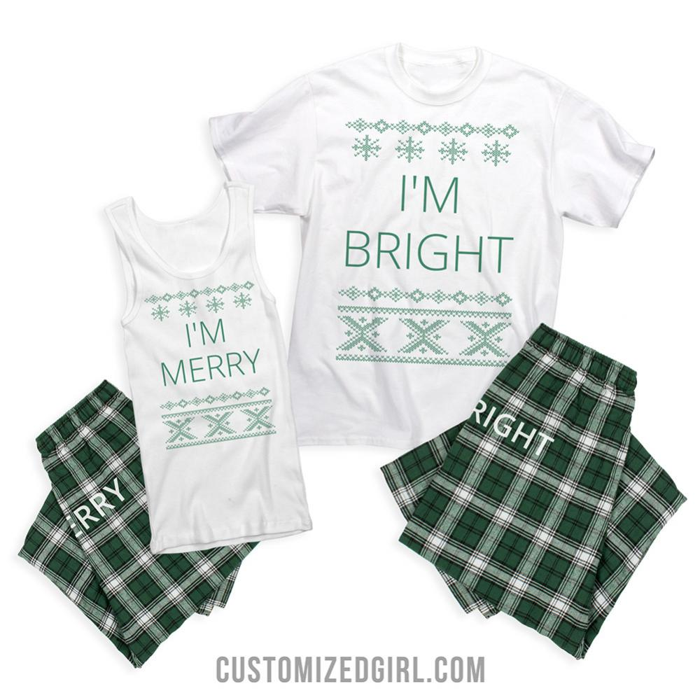 Merry And Bright Matching Couples