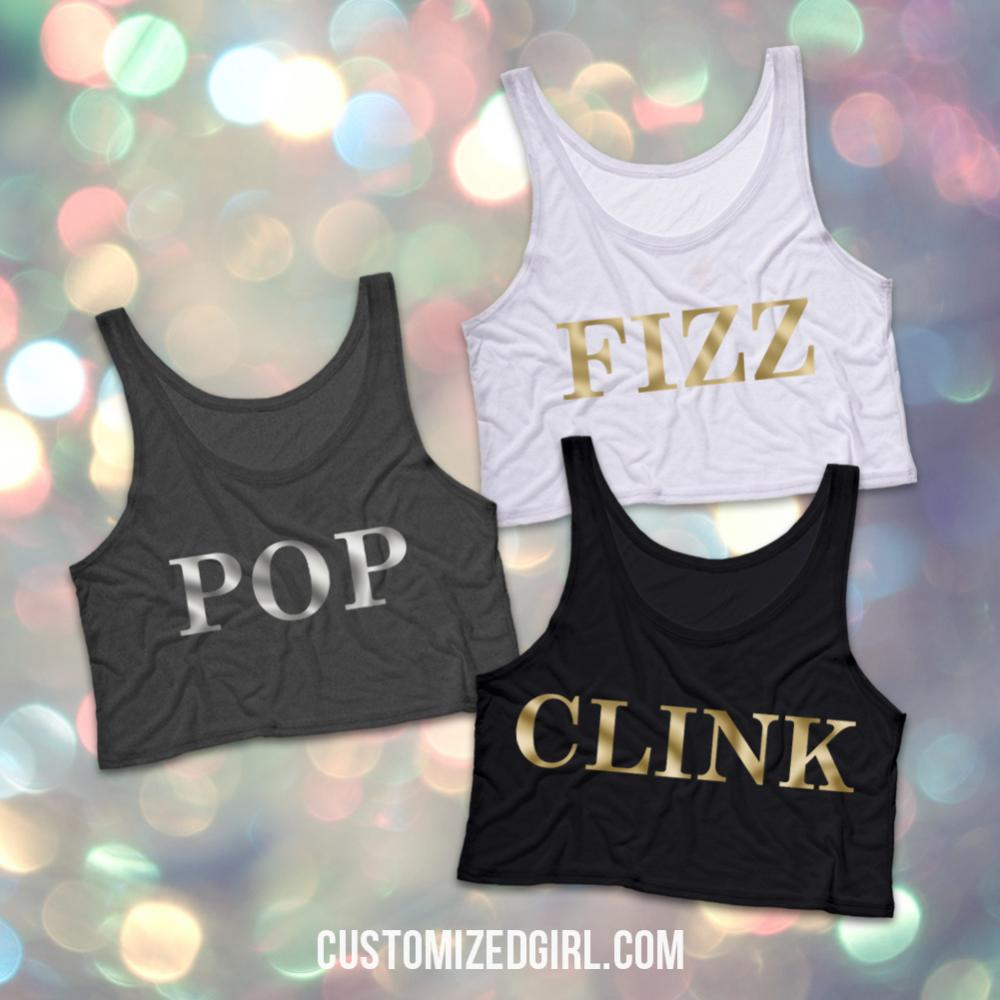 Pop Fizz Clink Silver Metallic