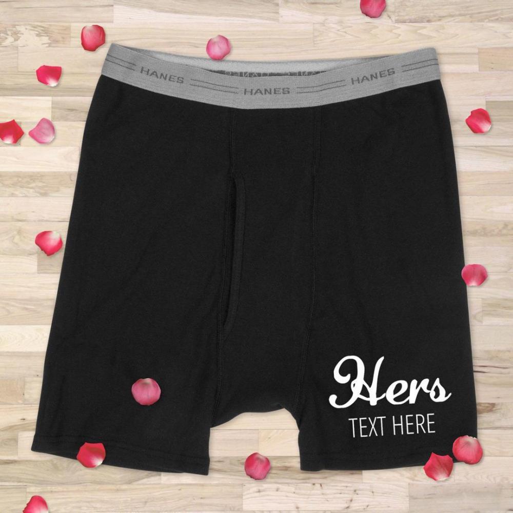 His & Hers Couple Underwear