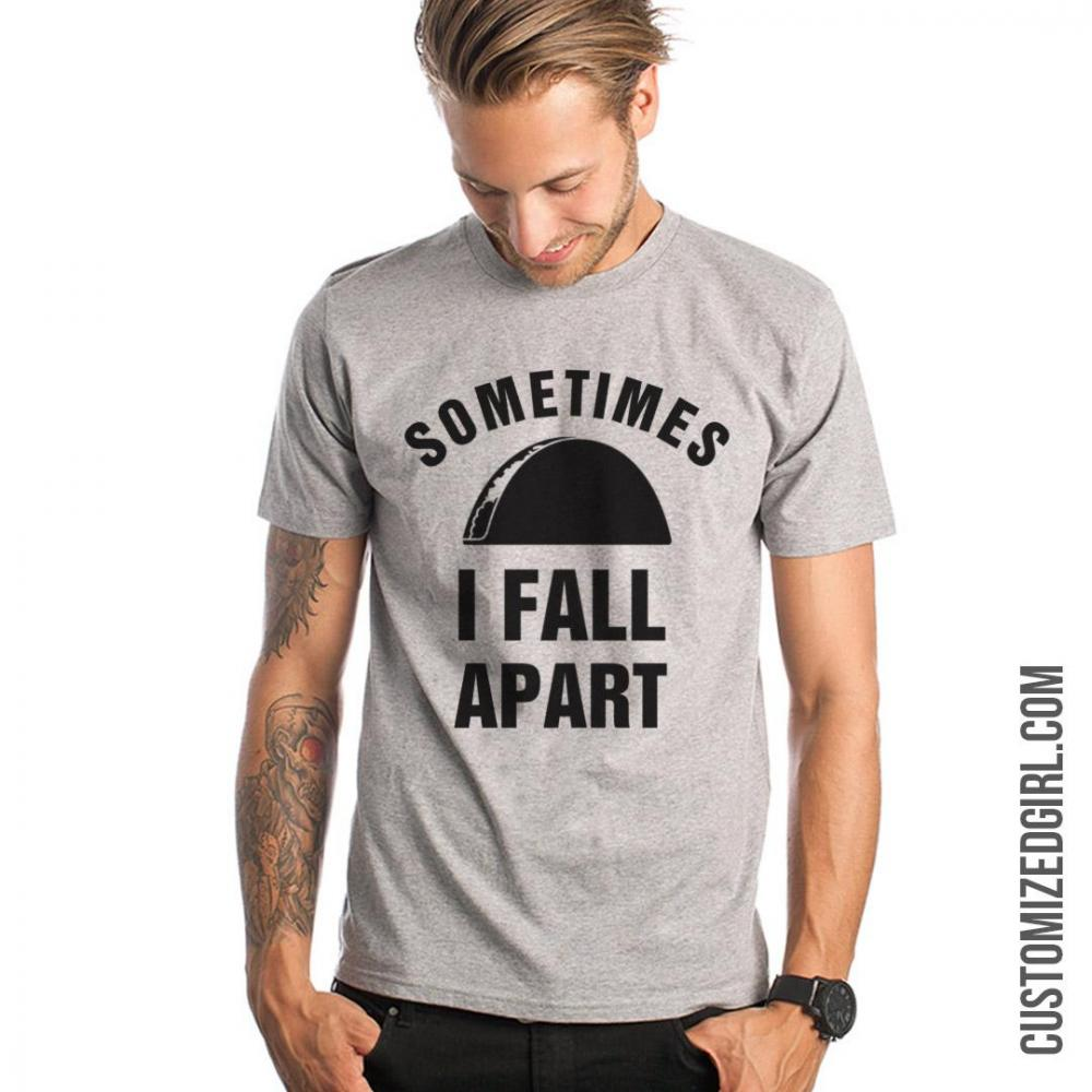 Sometimes I Fall Apart Unisex Basic Promo T-Shirt