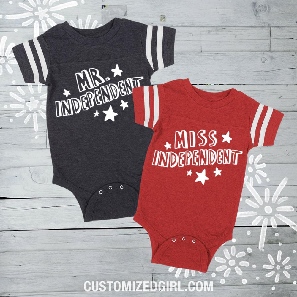 Mr. Independence Day Bodysuit