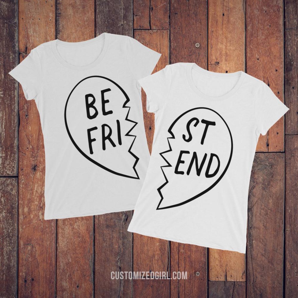 Broken Heart Matching Best Friends