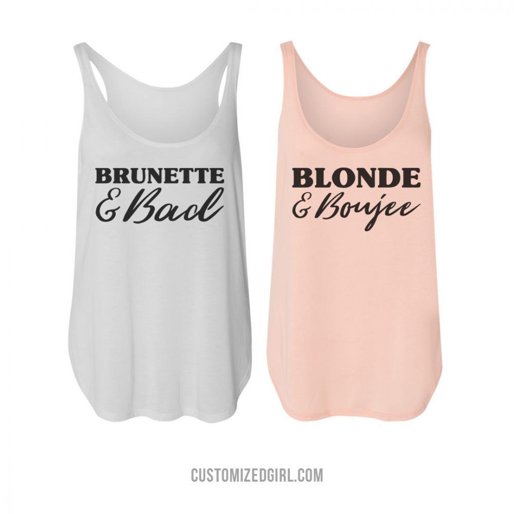 Brunette & Bad Boujee Best Friends