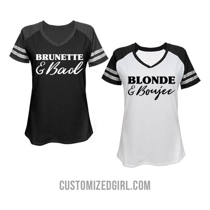 Brunette & Bad Matching Besties