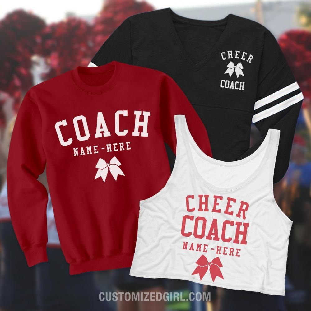 Cheer Coach Sporty Slub