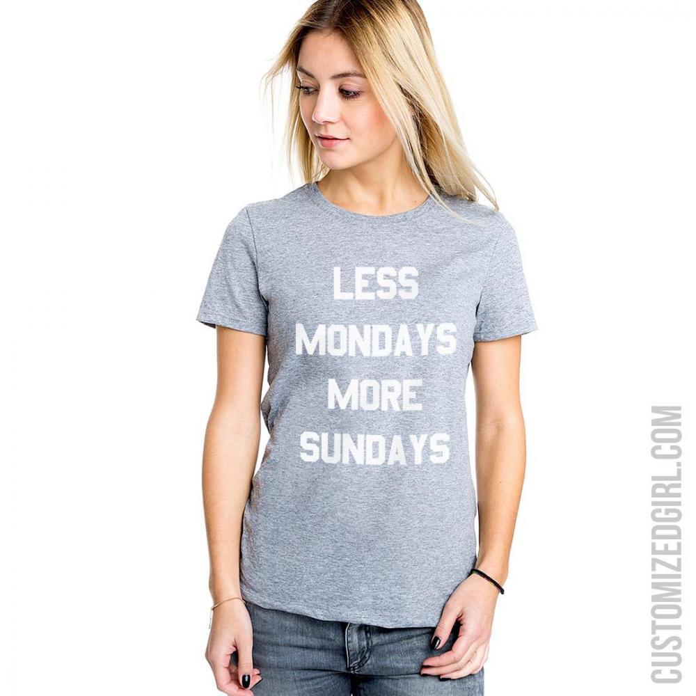 Less Mondays And More Sundays
