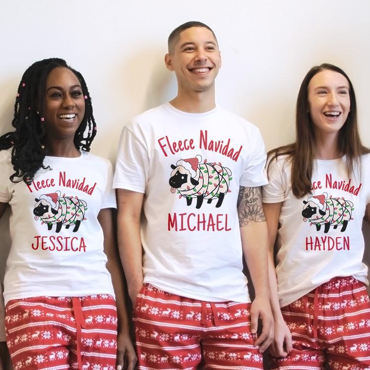 Fleece Navidad Custom Christmas