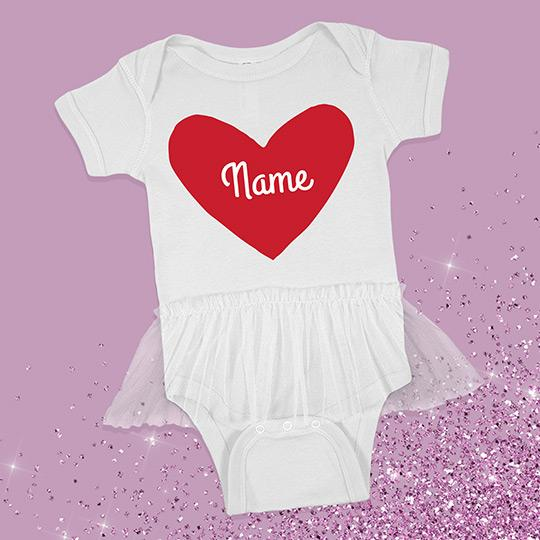 Custom Valentine's Day Outfit Heart