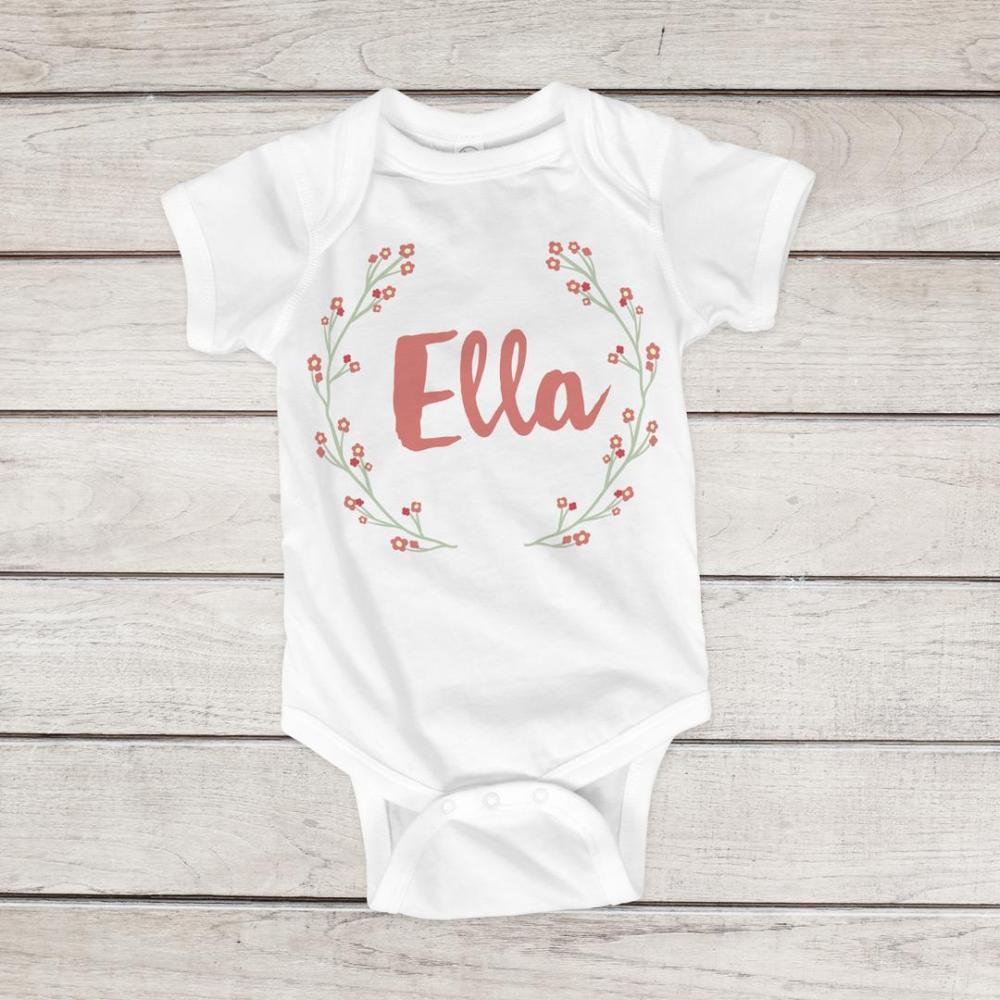 Easter Floral Custom Name Design