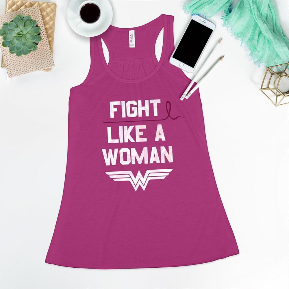 Fight Like A Woman Flowy Tank