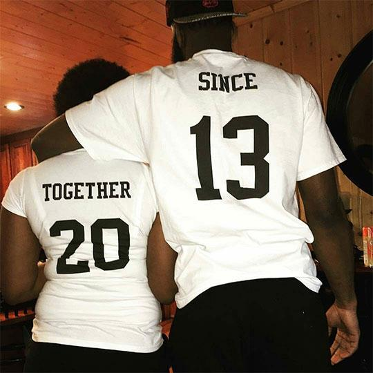 Together Since 13 Matching Couple