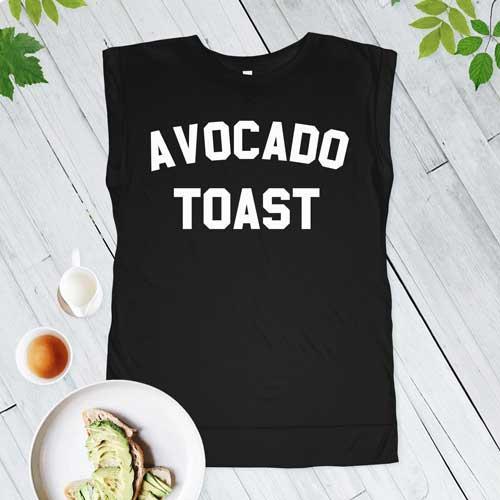 Avocado Toast Muscle Tee