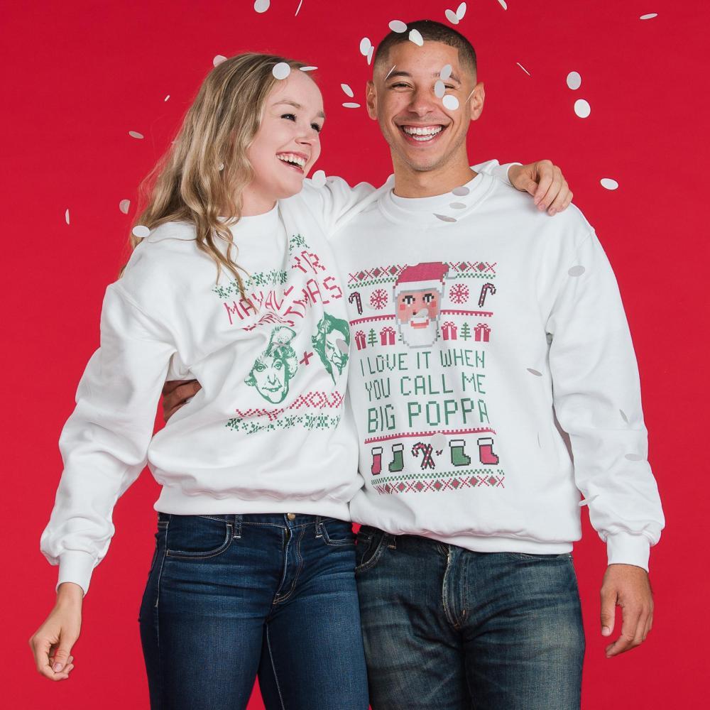 Big Poppa Santa Ugly Sweater