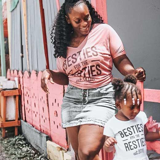 Mommy Matching Besties Shirt