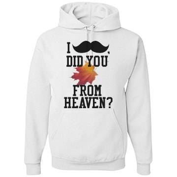 """"""" I 'Mustache', Did You 'Fall' from Heaven"""""""