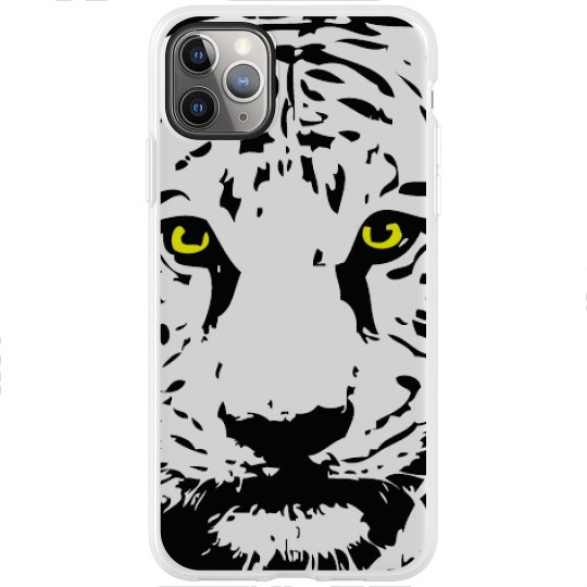 iPhone 11 Pro Max Flexi Case with Logo's Eyes