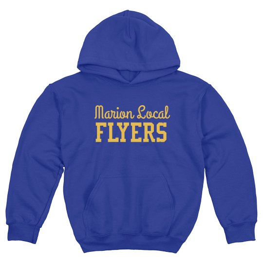 Marion Local youth hoodie