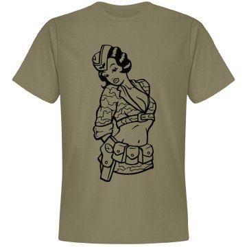 Men's Army Chic Tee