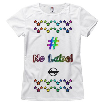 # No Label (My Pride Is Strong Tee)