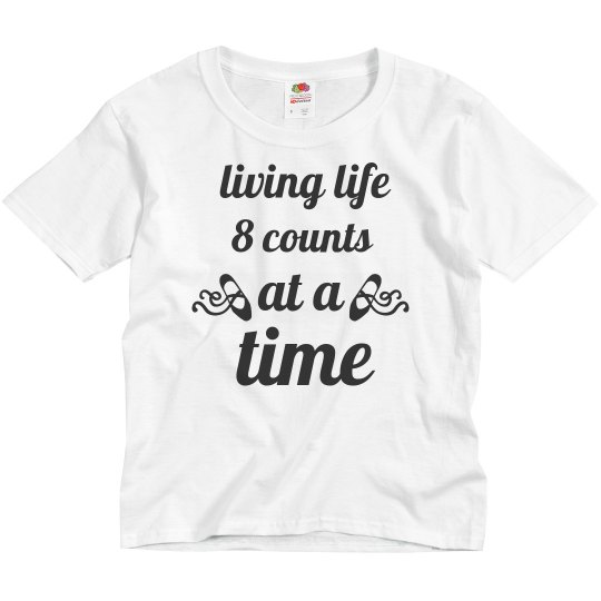 Youth Living Life Tee