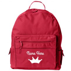 Customizable Girl's Back to School Backpack