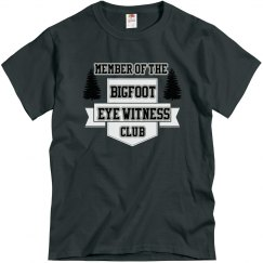 Bigfoot Eye Witness Club