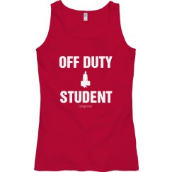 Off duty student