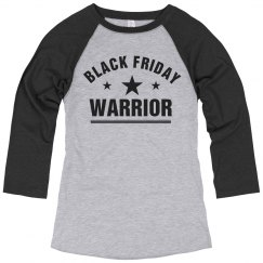 Black Friday Warrior