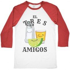 Neon El Tres Amigos Tequila