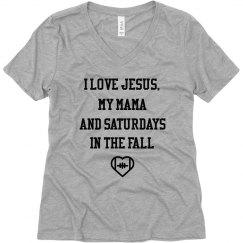 Jesus, Mama & Football