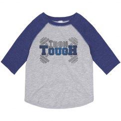 IronTough Toddler 3/4 sleeve vintage shirt