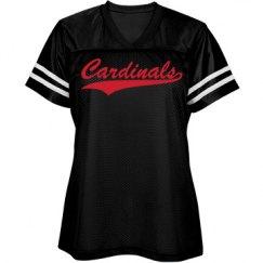 Cardinals shirt.