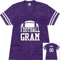 Football Grandma Fan