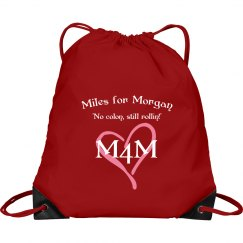 Miles for Morgan Drawstring Backpack