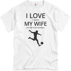 Love wife, love kickball