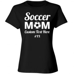 Custom Soccer Mom Number