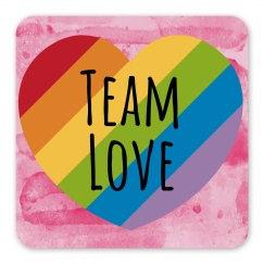 Team Love Magnet - Pink