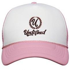 Undefined Trucker Hat Rose