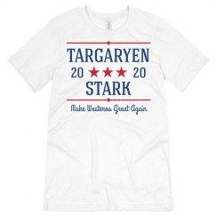 Targaryen Stark 2020 Funny Political Tee