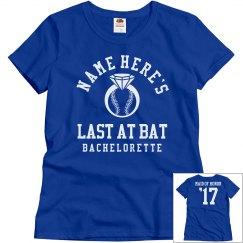 The Baseball Bachelorette Maid Honor