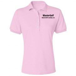 MasterGolf - Misses Jerzees Spotshield Blend Polo Shirt