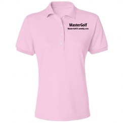MasterGolf - Misses Jerzees Spotshield Blend Polo Shirt