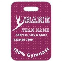 Gymnastics Bag Tag