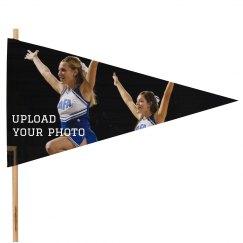 Custom Cheer Photo Flag