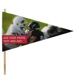 Custom Football Spirit Flag